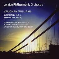 交響曲第8番、第4番 ユロフスキー、R.ウィッグルスワース、ロンドン・フィル