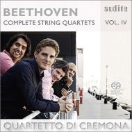 弦楽四重奏曲第14番、第1番 クレモナ四重奏団