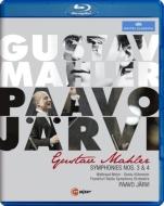 交響曲第3番、第4番 パーヴォ・ヤルヴィ&フランクフルト放送交響楽団