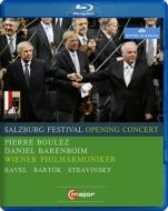 ストラヴィンスキー:『火の鳥』全曲、バルトーク:ピアノ協奏曲第1番、ラヴェル:高雅で感傷的なワルツ ブーレーズ&ウィーン・フィル、バレンボイム