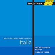 『イタリア合唱曲集〜ヴェルディ、シェルシ、ノーノ、ピツェッティ、ペトラッシ』 クリード&シュトゥットガルト声楽アンサンブル