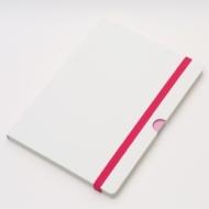 アクセスノートブック ホワイト(文具)