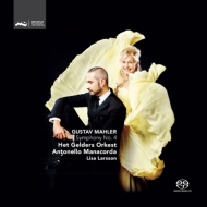 交響曲第4番、『子供の不思議な角笛』より マナコルダ&アーネム・フィル、リサ・ラーション