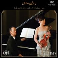 ロンド〜珠玉のヴァイオリン名曲集 礒絵里子(ヴァイオリン)、新垣隆(ピアノ)