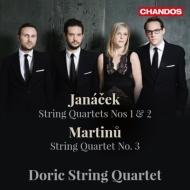 Janacek String Quartets Nos.1, 2, Martinu String Quartet No.3 : Doric String Quartet