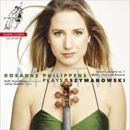 ヴァイオリン協奏曲第1番、『神話』、ロクサーナの歌、他 フィリッペンス、シエン・チャン&オランダ・ナショナル・ユース管、クエンティン