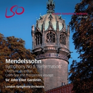 交響曲第5番『宗教改革』、『ルイ・ブラス』、『静かな海と楽しい航海』 ガーディナー&ロンドン響(SACD+ブルーレイ・オーディオ)