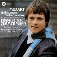 ヴァイオリン協奏曲協奏曲第3番、第5番『トルコ風』 フランク・ペーター・ツィンマーマン、フェルバー&ヴュルテンベルグ室内管