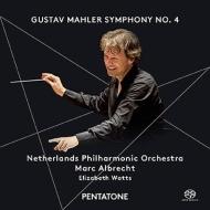 交響曲第4番 M.アルブレヒト&オランダ・フィル、エリザベス・ワッツ