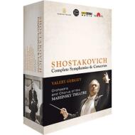 交響曲全集、協奏曲全集 ゲルギエフ&マリインスキー歌劇場管弦楽団(2013〜14、パリ・ライヴ)(8DVD)