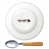 ケンカレー オリジナルカレー皿&カレースプーン/ 平井堅