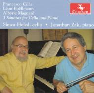 Cilea, Boellmann, Magnard: Cello Sonata: S.heled(Vc)J.zak(P)
