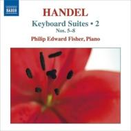 鍵盤楽器のための組曲集第2集 フィリップ・エドワード・フィッシャー(ピアノ)
