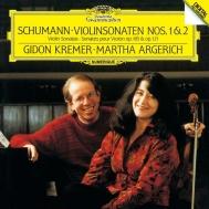 ヴァイオリン・ソナタ第1番、第2番 ギドン・クレーメル、マルタ・アルゲリッチ