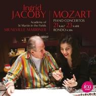 ピアノ協奏曲第21番、第23番、ロンド ジャコビー、マリナー&アカデミー室内管