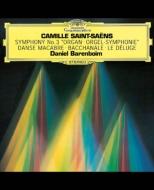 交響曲第3番『オルガン付き』、管弦楽曲集 バレンボイム&シカゴ響、リテーズ、パリ管
