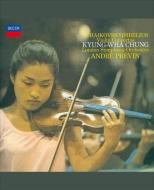 チャイコフスキー:ヴァイオリン協奏曲、シベリウス:ヴァイオリン協奏曲 チョン・キョンファ、プレヴィン&ロンドン響