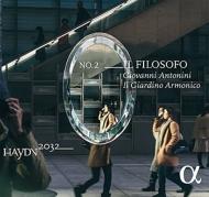ハイドン:交響曲全集2 「哲学者」〜ハイドン2032プロジェクト Vol.2〜 ジョヴァンニ・アントニーニ、イル・ジャルディーノ・アルモニコ