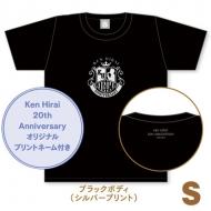 キラキラTシャツ ブラック【S】/ Ken Hirai 20th Anniversary Goods