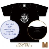 キラキラTシャツ ブラック【M】/ Ken Hirai 20th Anniversary Goods