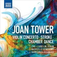 ヴァイオリン協奏曲、『ストローク』、『チェンバー・ダンス』 チョーリャン・リン、G.ゲレーロ&ナッシュヴィル響
