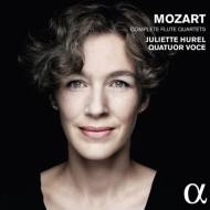 モーツァルト:フルート四重奏曲全集 ジュリエット・ユレル、ヴォーチェ弦楽四重奏団
