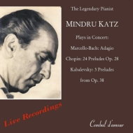 Mindru Katz Never Before Published Live Recordings