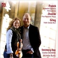 フランク:ヴァイオリン・ソナタ、グリーグ:ヴァイオリン・ソナタ第3番、ドヴォルザーク:4つのロマンティックな小品、他 スタインバーグ・デュオ