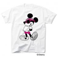 COLOR ME RAD ディズニーコレクション ミッキーTシャツ【S】/ホワイト