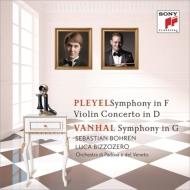 Pleyel Symphony, Violin Concerto, Vanhal Symphony : Bizzozero / Padova Veneto Orchestra, Bohren(Vn)
