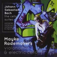 バッハ(1685-1750)/6 Cello Suites: Rademakers +gubaidulina Kurtag Penderecki Britten Schnittke Impr