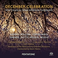 12月のお祝い〜7人のアメリカ人作曲家による新しいキャロル集 ハームズ&ニュー・センチュリー室内管、ヴォルティ・コーラス、他