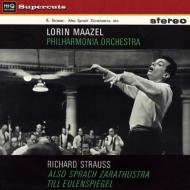 ツァラトゥストラはかく語りき、ティル・オイレンシュピーゲル ロリン・マゼール&フィルハーモニア管弦楽団 (180グラム重量盤レコード/Hi-Q Records Supercuts)