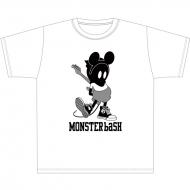MONSTER baSH 2015 Tシャツ/ BUSTA01(ホワイト)【XS】