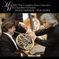 Horn Concertos Nos.1-4 : Baborak(Hr)Ozawa / Mito Chamber Orchestra