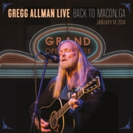 Gregg Allman Live: Back To Macon, Ga (2枚組アナログレコード)