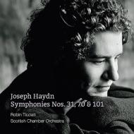 交響曲第101番『時計』、第31番『ホルン信号』、第70番 ティチアーティ&スコットランド室内管
