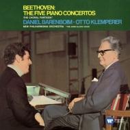 ピアノ協奏曲全集、合唱幻想曲 バレンボイム、クレンペラー&ニュー・フィルハーモニア管(3CD)