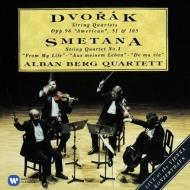 ドヴォルザーク:弦楽四重奏曲第12番『アメリカ』、第10番、第14番、スメタナ:わが生涯より アルバン・ベルク四重奏団(2CD)