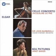 チェロ協奏曲、海の絵、コケイン デュ・プレ、ベイカー、バルビローリ&ロンドン響、フィルハーモニア管