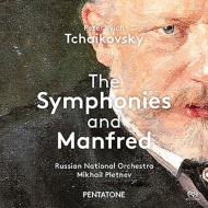 チャイコフスキー(1840-1893)/Comp. symphonies: Pletnev / Russian National O (2010 2011 2013) (Hyb)