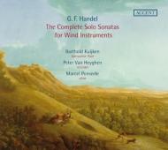 木管楽器のためのソロ・ソナタ全集 バルトルド・クイケン、ヘイゲン、ポンセール(2CD)