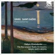 グリーグ:ピアノ協奏曲、サン=サーンス:ピアノ協奏曲第2番 ヴァディム・ホロデンコ、ミゲル・アルト=ベドヤ&ノルウェー放送管弦楽団