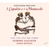 『カプレーティとモンテッキ』全曲 ビオンディ&エウローパ・ガランテ、ジュノー、V.ファルカシュ、他(2014 ステレオ)(2CD)