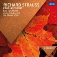 R.シュトラウス:4つの最後の歌(テ・カナワ、ショルティ&ウィーン・フィル)、マーラー:さすらう若者の歌、亡き子をしのぶ歌(ファスベンダー、シャイー)