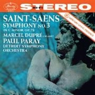 交響曲第3番『オルガン付き』 パレー&デトロイト交響楽団、マルセル・デュプレ