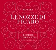 『フィガロの結婚』全曲 クルレンツィス&ムジカエテルナ、ケルメス、ヴァン・ホルン、他(2012 ステレオ)(3CD)