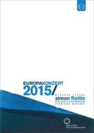 シューマン:交響曲第3番『ライン』、シベリウス:ヴァイオリン協奏曲、他 ラトル&ベルリン・フィル、カヴァコス(ヨーロッパ・コンサート2015)