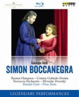 『シモン・ボッカネグラ』全曲 P.シュタイン演出、ガッティ&&ウィーン国立歌劇場、ハンプソン、フルラネット、他(2002 ステレオ)