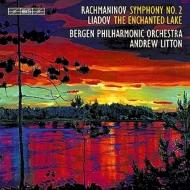 ラフマニノフ:交響曲第2番、リャードフ:魔法にかけられた湖 リットン&ベルゲン・フィル